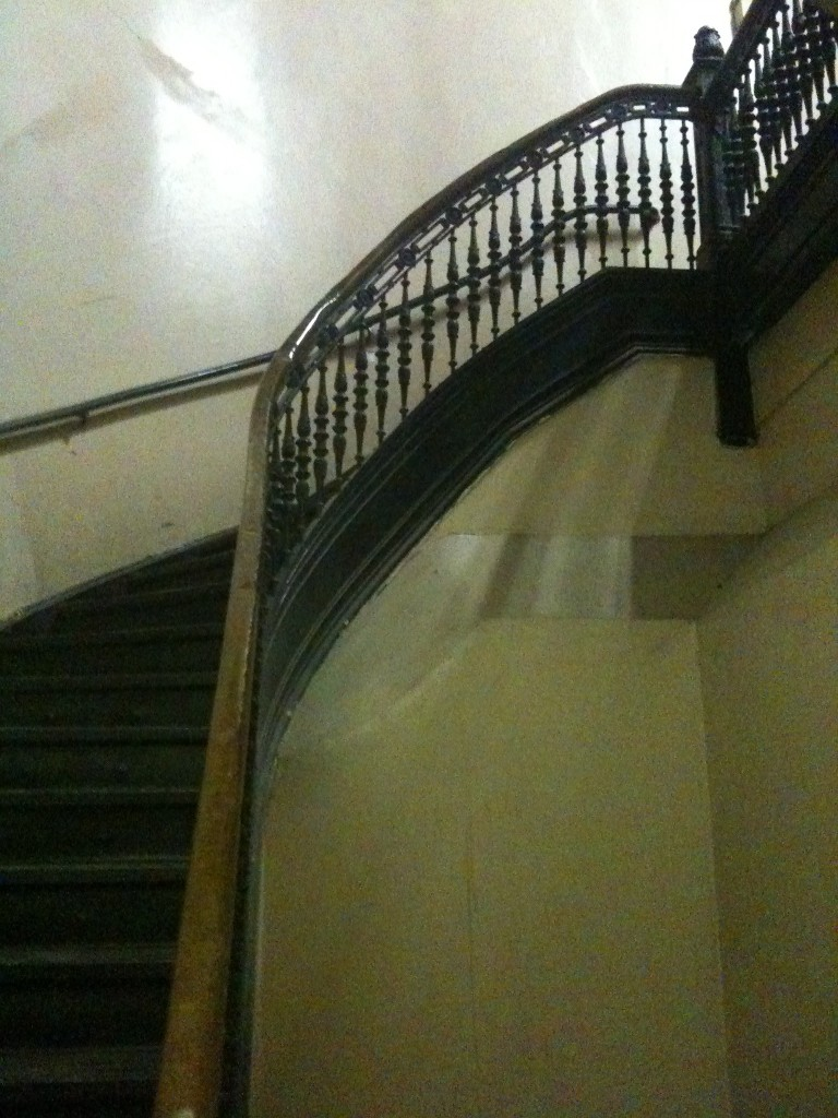 Apartment-Spiral-Staircase-Los-Angeles-Filming-Location-Herald-Examiner