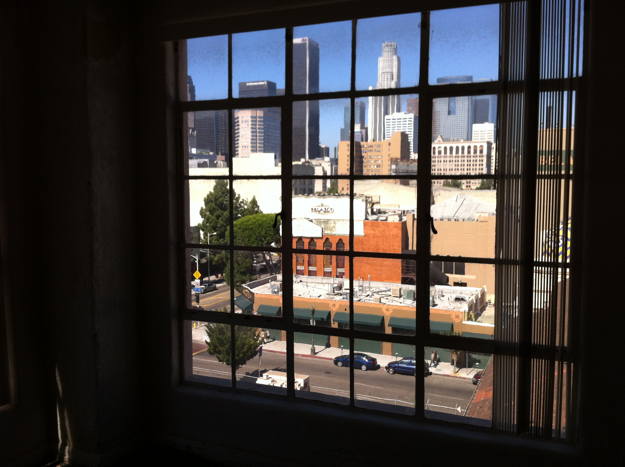 ... Loft Apartment Window City View Los Angeles Filming